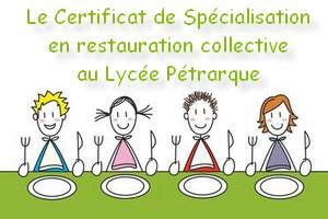 Certificat de sp cialisation en restauration collective ufa avignon - Restauration collective salon de provence ...